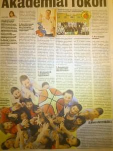 Nemzeti Sport: Akadémiai fokon - 2012.június 9.