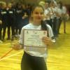 A Balkán Kupa MVP-je: Pfeiffer Virág